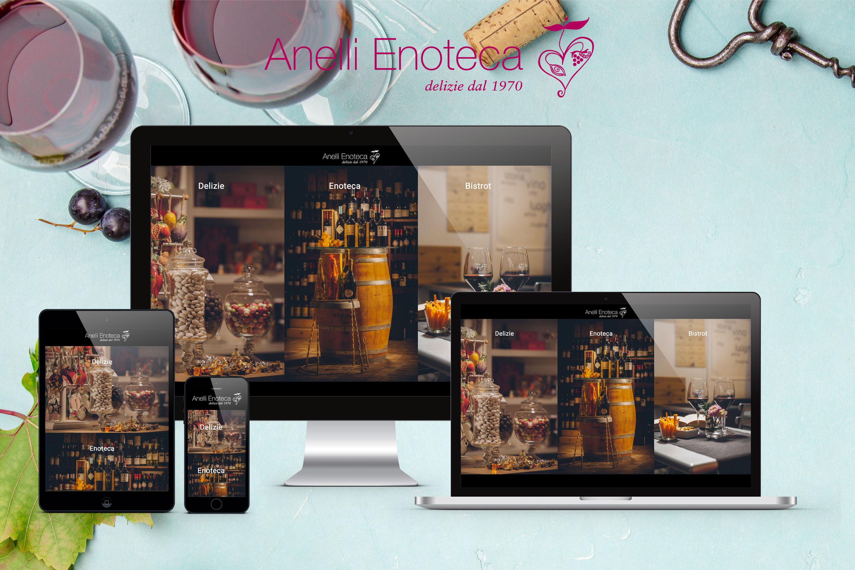 Anelli Enoteca Delizie dal 1970 – Un progetto corporate