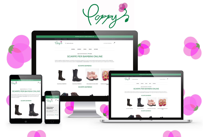 Poppy Shop – Sito e-commerce e Attività Seo